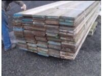 Scaffolding boards for sale ideal for builders/home DIY