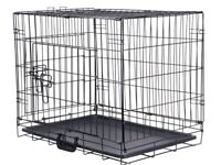 "Large Dog Training Crate 42"" Sizes approximately 70cm wide 107cm long 82cm high."