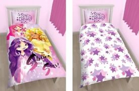 Disney Star Darlings Single Bed Duvet Set & Pillow Case Brand New