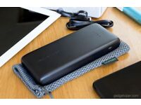 RAVPower Power Bank 20000mAh USB Dual iSmart 2.0 USB Ports, 3.4A Max Output .BRAND NEW IN BOX