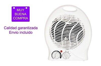 Calefactor (FH-04) 1000W/2000W Termostato ajustable con indicador de encendido