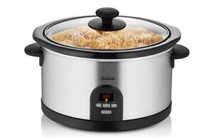 Sunbeam SecretChef Electronic Slow Cooker HP5590 BRAND NEW! Menai Sutherland Area Preview