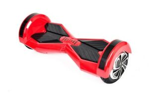 "8"" Red Bluetooth Hoverboard"