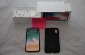 Apple iPhone X 64GB brand new unlocked to all networks