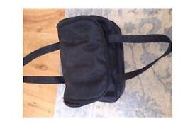 C black hold- all bag