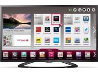 LG 47 Inch Full HD Edge LED Smart Television, FreeviewHD, WiFi, USB Play,