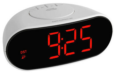 FUNKWECKER DIGITAL TFA 60.2505 BELEUCHTETE LCD-ANZEIGE SCHLUMMERFUNKTION DIMMBAR