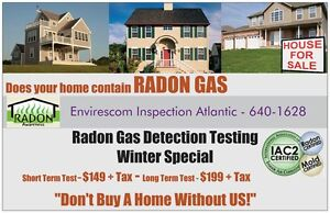 RADON Don't Ignore It! RADON Is A Serious Health Issue.