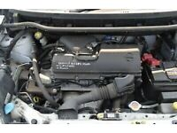Nissan note micra cube 1.4 petrol engine cr14