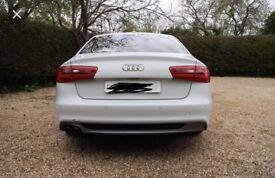 Audi A6 2013 c7 black edition rear end