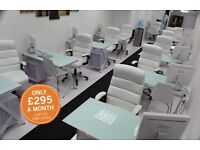 COMMERCIAL   OFFICE   DESK SPACE   MEETING ROOM   SHOP   CO-WORKING   FIXED DESKING  NOT HOT DESKING