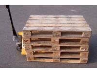 Euro wooden pallets £4 free local delivery clapham
