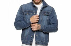 Men's Enzo jeans jacket new with tag size L