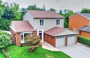 Sun-filled Detached House For Rent $2500; Mississauga-Erin Mills