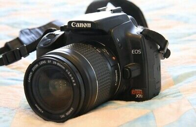 Canon EOS Rebel XTi, 28-80 Canon lens, other equipment, 100% working