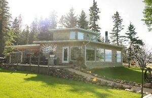 Lake front Candle Lake cabin for rent
