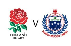 2 x England v Samoa Rugby Tickets Twickenham 25th November