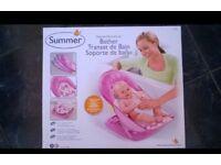 Baby Pink Bath Seat