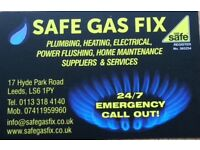 Plumbing/Heating/Gas Engineer -Boiler Maintenance/Repairs/Installations-All West Yorkshire-Qualified