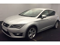 SEAT LEON 1.4 ECOTSI FR TECHNOLOGY 2.0 TDI SE BUSINESS FROM £51 PER WEEK!