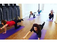 Adult Yogalates Classes in Southampton