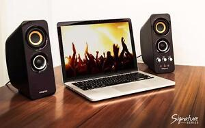 CREATIVE T30 Wireless Bluetooth 3.0, 2.0 Computer Speaker System with Near Field Communication - A GRADE CONDITION