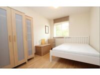 Two lovely spacious double room in bright and airy flat.