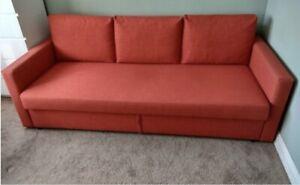 Ikea FRIHETEN sofa couch storage sofa bed