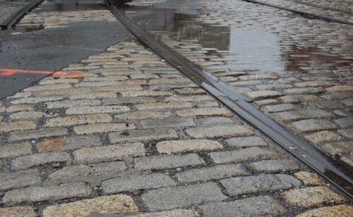New York City Cobblestone (Belgian Block) - originally cut 1890s.