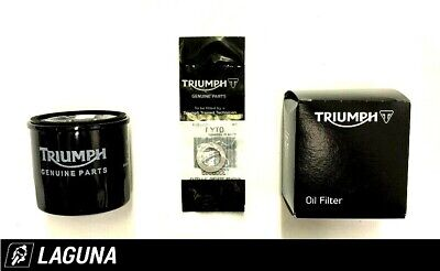 GENUINE TRIUMPH MOTORCYCLES OIL FILTER  SUMP WASHER   T1218001  T355