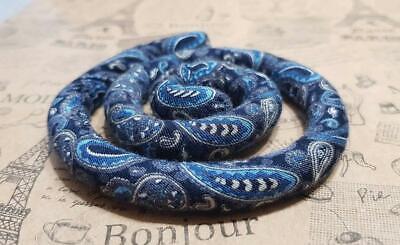 Spiralocks Bendable Hair Tie for dreadlocks Denim Hair Tie Dreadlock Accessories](Accessories For Dreadlocks)