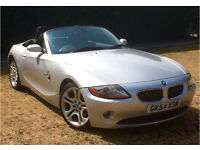 BMW Z4 3.0i Auto - Silver - Good condition - lots of service history