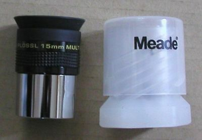 NEW 15mm Meade Series 4000 Super Plossl telescope eyepiece