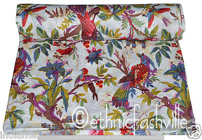New Indian Cotton Fabric Material Craft Running Loose Sewing Dressmaking 5 Yard