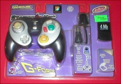 G Force Controller + 4MB Memory Card + 6 ft. Cable for the Nintendo Gamecube NEW