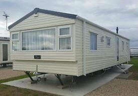 Caravan for hire at Silversands, Lossiemouth