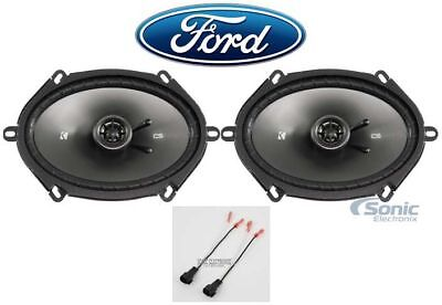 """JVC 6x8/"""" Front+Rear Factory Speaker Replacement Kit For 2004-2006 Ford F-150"""