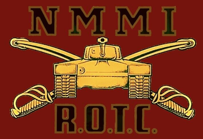 New Mexico Military Institute, NMMI, ROTC sticker reproduction