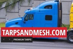 Heavy Duty Truck Tarps Lumber Tarps Pipe & Mesh