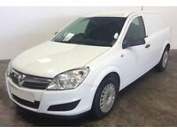 ONLY £131.20 PER MONTH WHITE VAUXHALL ASTRA 1.7 CDTI CLUB VAN DIESEL MANUAL
