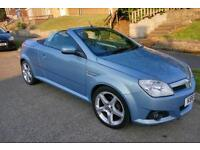 Vauxhall Tigra Exclusive Convertible. Top spec