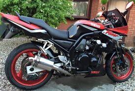 Yamaha Fazer 600cc - REDUCED FOR QUICK SALE