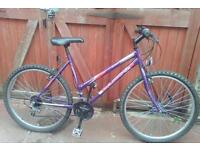 Ladies bike, can deliver