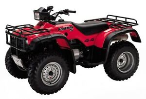 Honda 450S Foreman ~ WANTED TO BUY ~