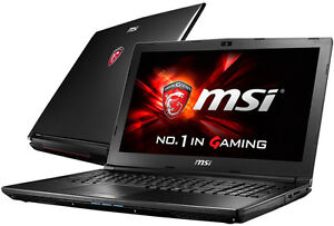 Gaming laptop MSI GL62 vente ou echange