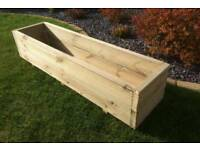 Bespoke Handmade Wooden Decking Planter