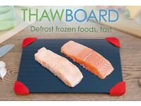 NEW Large Miracle Defrost Tray Thaw Board Plate - Faster Defrosting