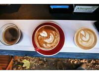 Specialty Coffee Barista Hire