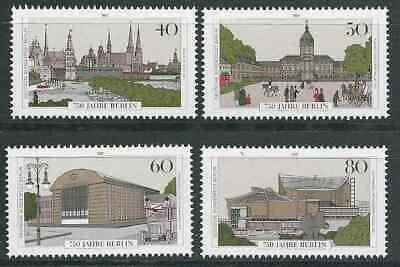 275 BERLIN 1987 MI NR 772 775 POSTFRISCH BLOCK 8 EINZELMARKEN KOMPLETTER SATZ