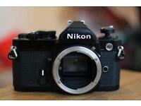Nikon fm. 35mm film excellent condition